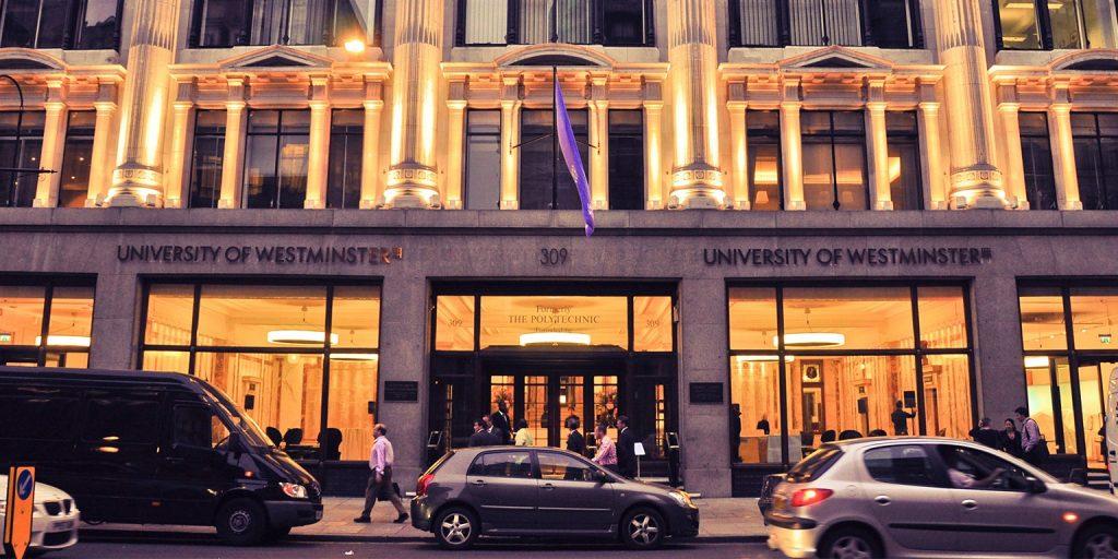 universidad moda University of Westminster