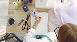 saber dibujar diseñadora moda